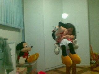 Pelucia Mickey e Minnie