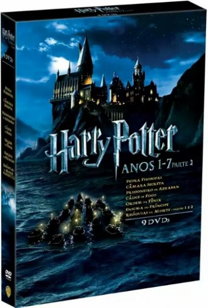 Box dvd harry potter