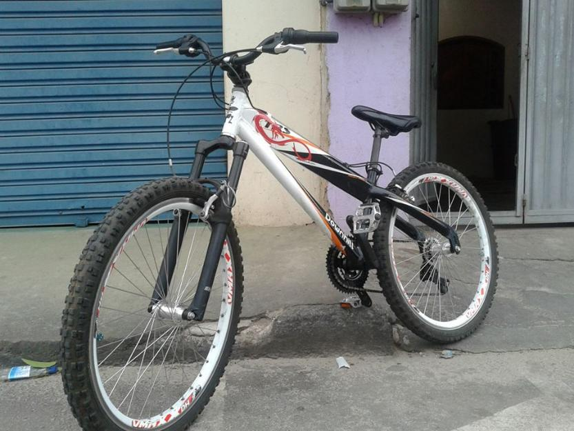 tunada quadro em aluminium guidão em aluminium branco bike trs tunada