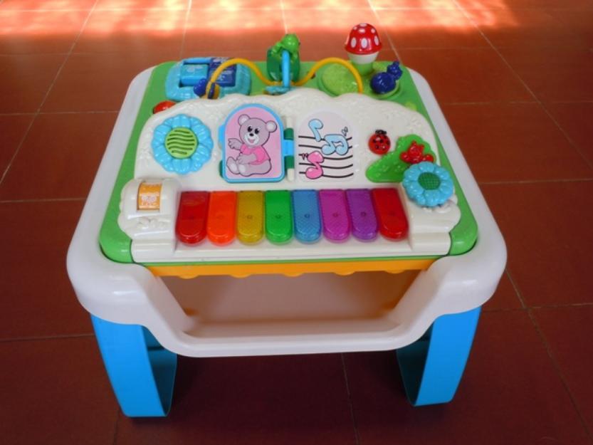 mesa de atividades musical chicco vazlon brasil