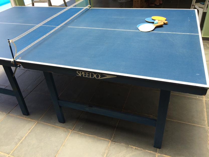 Mesa de ping pong speedo dobravel vazlon brasil for Mesa de ping pong usada