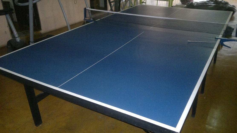 Excelente mesa de ping pong profissional completa vazlon for Mesa de ping pong usada