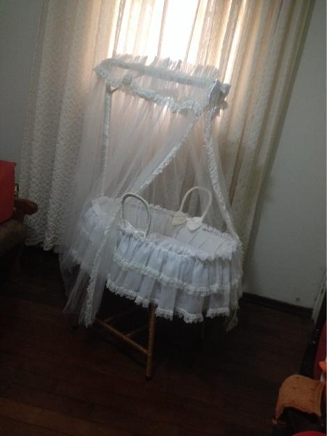 cesto para bebê berços e móveis piracicaba cesto de vime completo