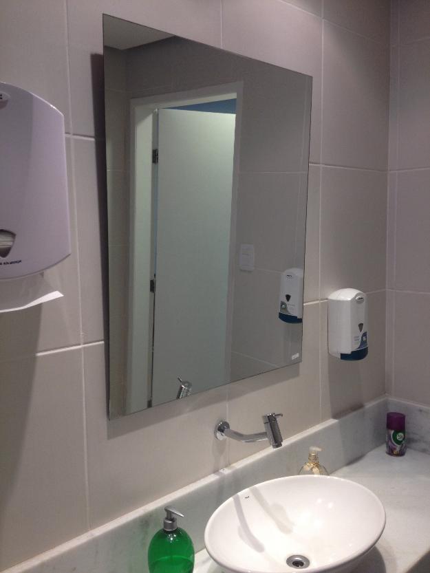 espelho de banheiro para embutir  Vazlon Brasil -> Armario De Banheiro Com Espelho Inox