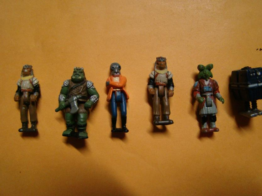 Star Wars- Set de figuras Action Fleet/Micromachines Kenner.