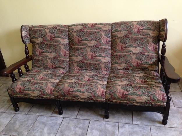 Jogo de sofas estilo colonial rustico fino 2 e 3 lugares vazlon brasil - Sofas estilo colonial ...