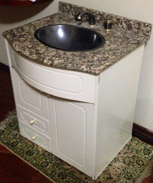 gabinete para banheiro saturno 1 porta 1 gaveta  Vazlon Brasil -> Aquecedor Para Pia De Banheiro