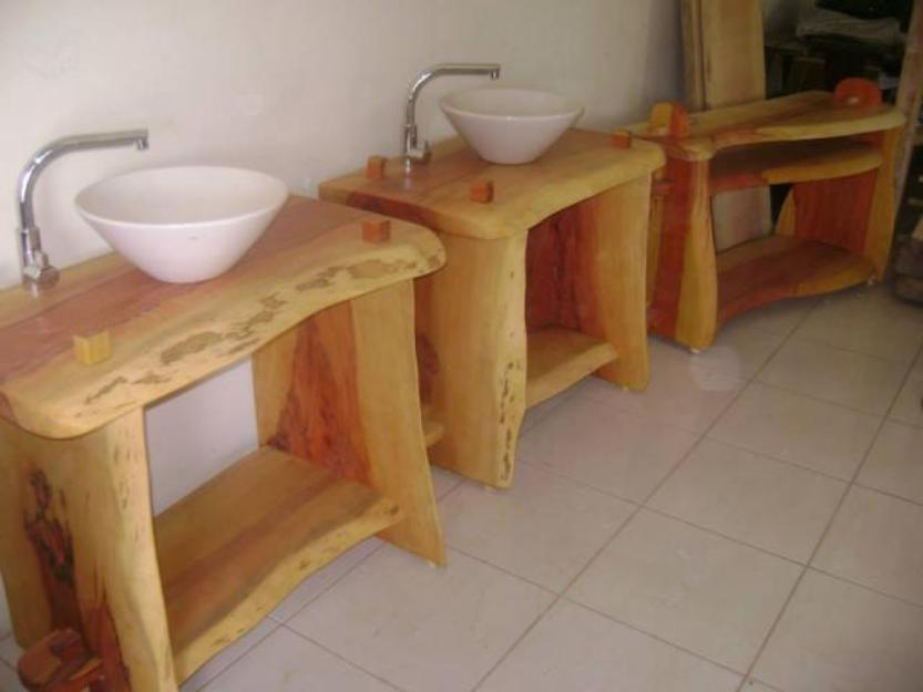 banheira banheiro com gabinete em madeira freguesia do  Vazlon Brasil -> Pia Movel Banheiro