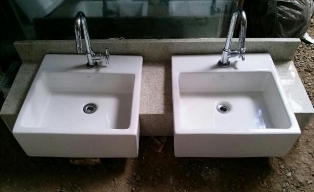 metais cubas e e acessorios para banheiro  Vazlon Brasil -> Pia De Banheiro Com Duas Cubas