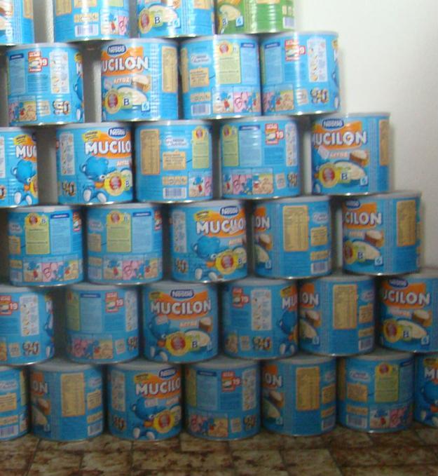 Armario Escritorio Com Chave ~ latas de leite ninho e de nescau vazias para artesanato Vazlon Brasil