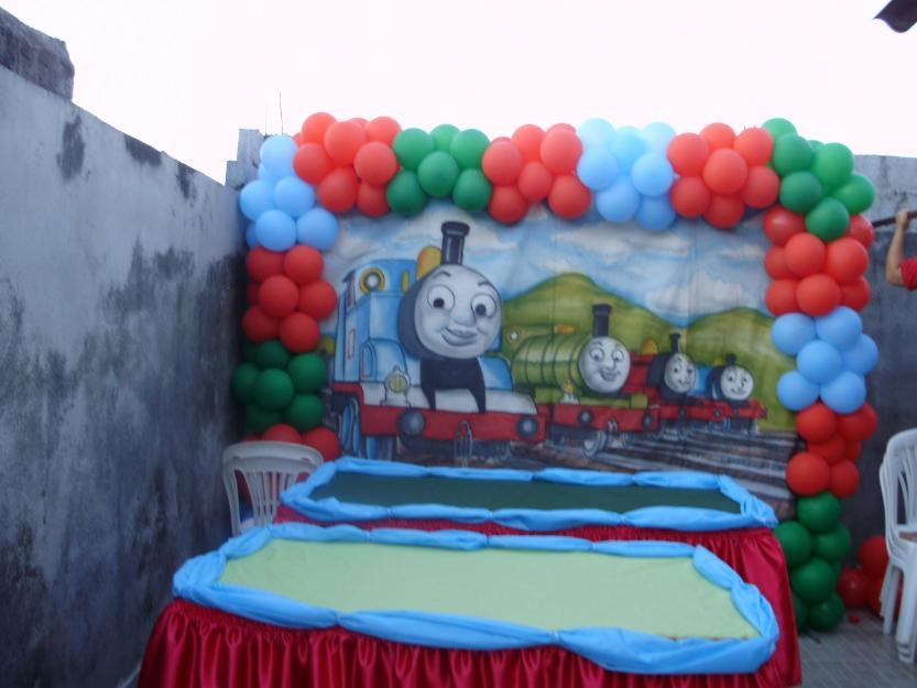 Painel Thomas E Seus Amigos Pictures To Pin On Pinterest~ Decoracao Festa Thomas E Seus Amigos