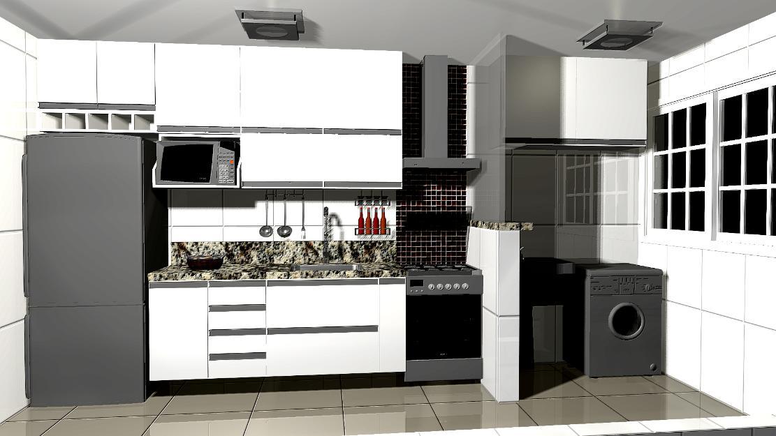 cozinha planejada n Praia Grande