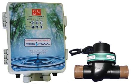 Ionizador para tratamento de piscinas vazlon brasil for Ionizador piscina