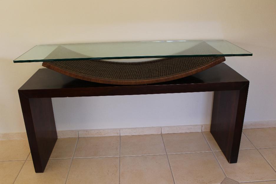Armario Que Plancha Y Dobla ~ Gabinete Para Banheiro Aparador na cor tabaco