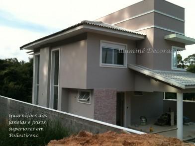 Isomoldes em poliestireno eps molduras beirais vazlon brasil - Molduras para fachadas ...