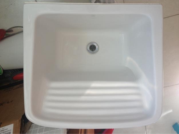 pia de banheiro louca celite com bancada granito  Vazlon Brasil # Pia De Louca Para Banheiro