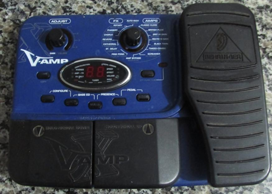 Resetando a V-amp 3 - YouTube