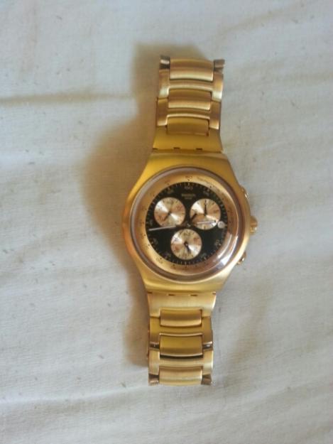 f7ff990203f Relogio Swatch Serie Ouro Ofertas Vazlon Brasil