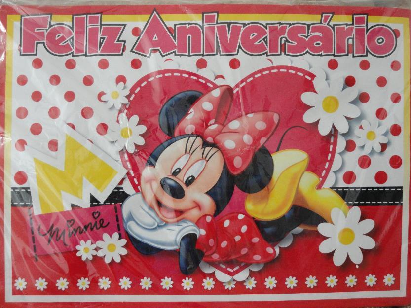 da minnie vermelha painel para decoração de festa infantil da minnie