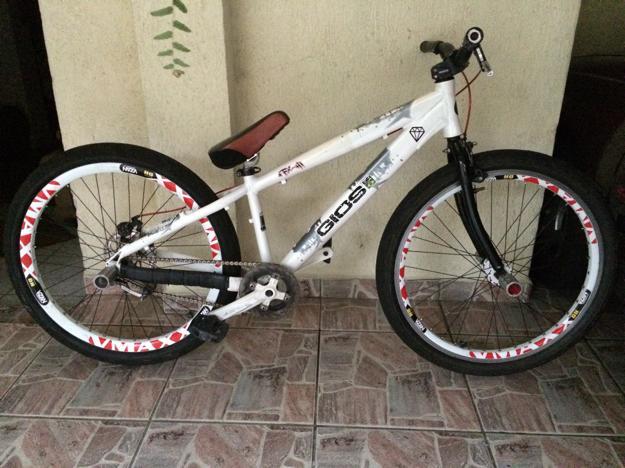Adesivo De Parede Japones ~ Bicicleta GIOS FRX para Wheeling