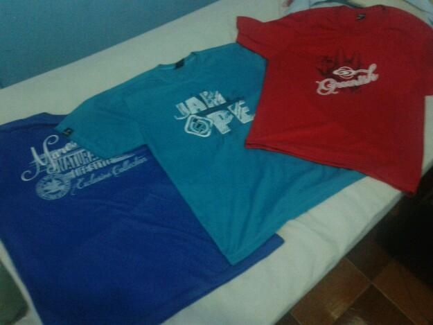 Camisas Greenish,Jumpe e Maresia G