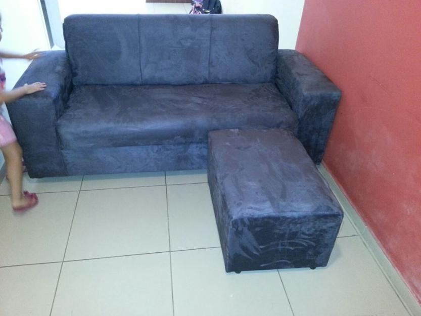 Sofa paris 3 lugares com poltronas a preco de fabrica na for Sofa 03 lugares com chaise