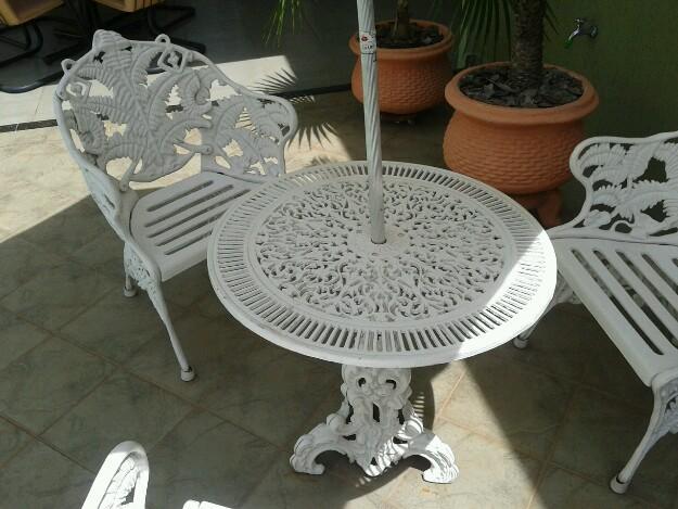 decoracao branca azul aracatuba : decoracao branca azul aracatuba:jogo de mesa de ferro p jardim