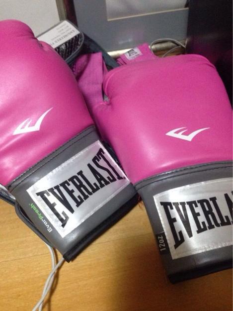 cc476b1e2 Eu moda  Luvas de boxe feminina roxa