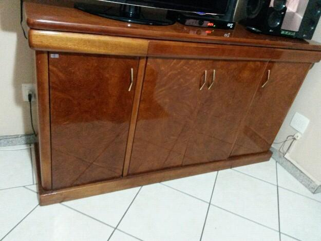 Armario Empotrado Sinonimos ~ buffet em madeira imbuia Vazlon Brasil