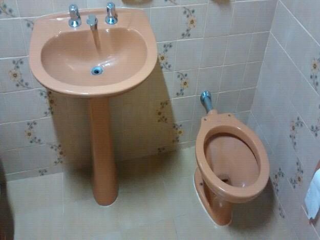 jogo lavatorio e vaso sanitario usado  Vazlon Brasil -> Jogo De Banheiro Pia E Vaso Sanitario