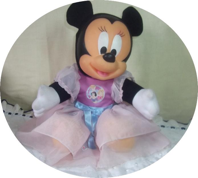 Boneca Minnie Grande Da Disney Antiga