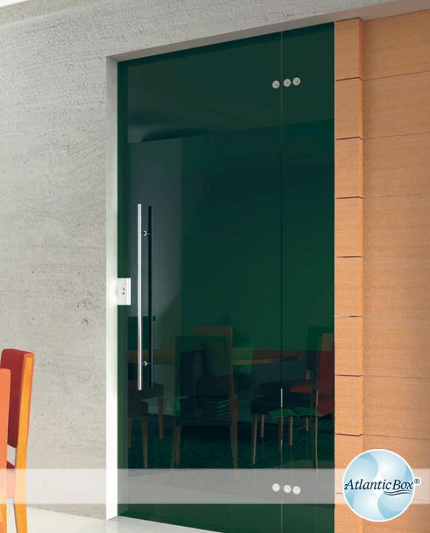 Vidro temperado blindex cor fume de 4 folhas sendo 2 fixas for Porta 4 folhas de vidro temperado