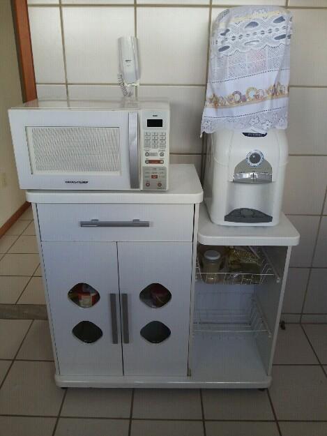 Estante hack microondas gelagua tv philco vazlon brasil - Armario para microondas ...