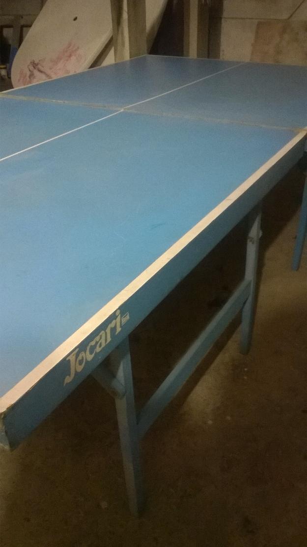 Mesa de madeira naval com pe de inox vazlon brasil for Mesa de ping pong usada
