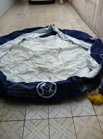 Piscina mor l redonda com bomba de limpeza vazlon brasil for Piscinas plasticas redondas