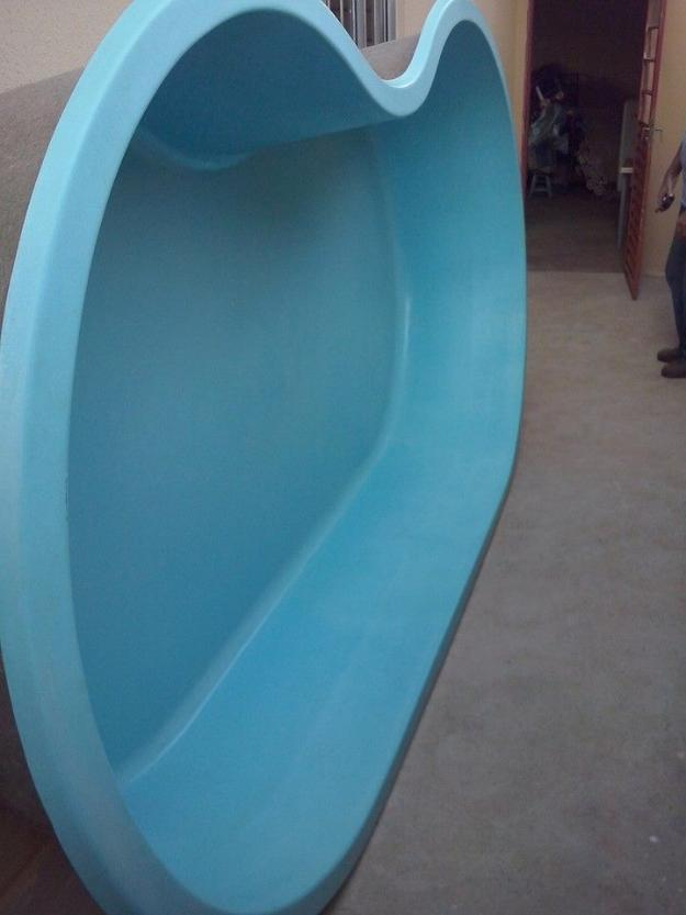 Piscina de fibra 7 metros mega promocao vazlon brasil for Piscina de fibra usada