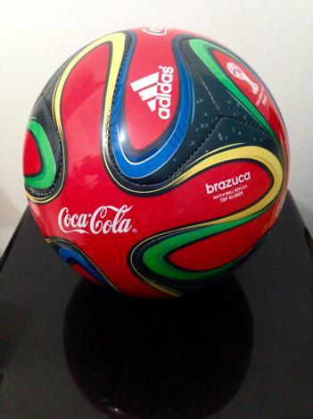 bola brazuca original adidas selo fifa Vazlon Brasil ff278d72cf5fc