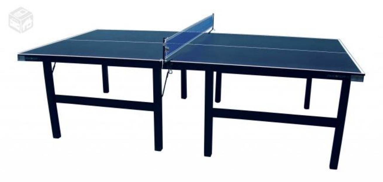 Mesa de tenis de mesa ping pong usada madeira naval preco for Mesa de ping pong usada