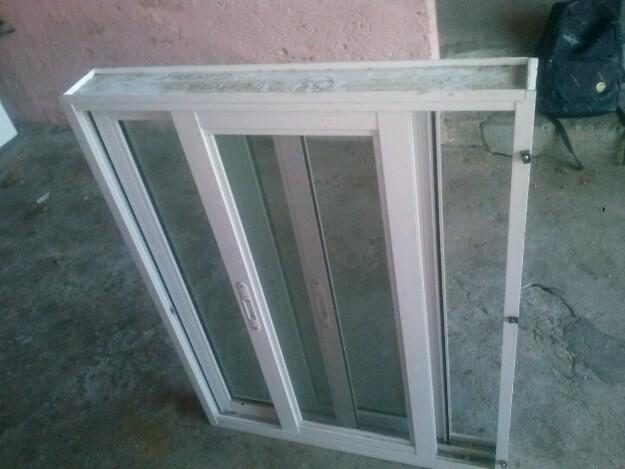 Janela de aluminio com pintura eletrostatica branca - Pintura para aluminio ...