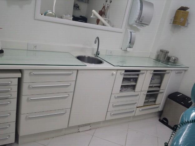 Aparador Zapatero Ikea ~ armario odontologico gaveteiro cirurgico com abas novo Vazlon Brasil