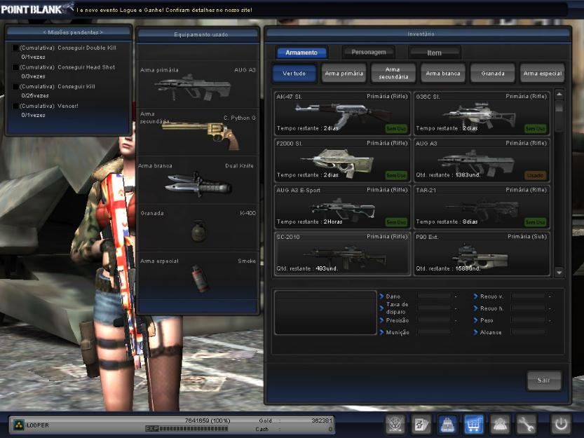 Conta Point blank Coronel 5