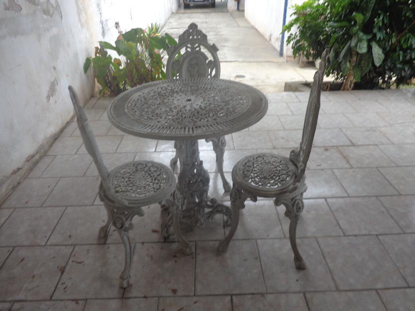mesa jardim curitiba:de mesa e cadeiras de ferro para jardim vendo por otimo preço mesa