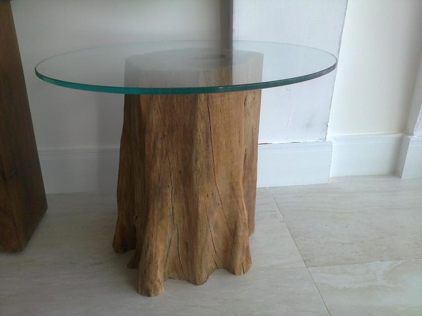 Mesa tronco vazlon brasil for Mesa de tronco