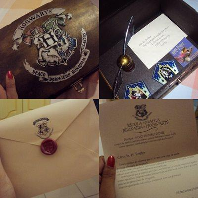 Harry Potter kit novo e barato