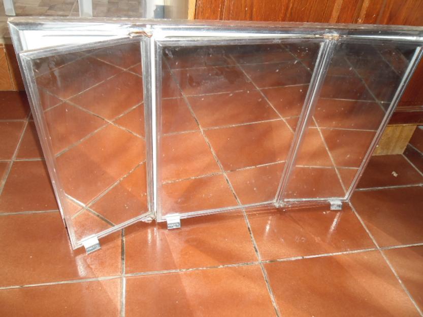 armario de banheiro portas em aluminio  Vazlon Brasil -> Armario De Banheiro Com Espelho Triplo