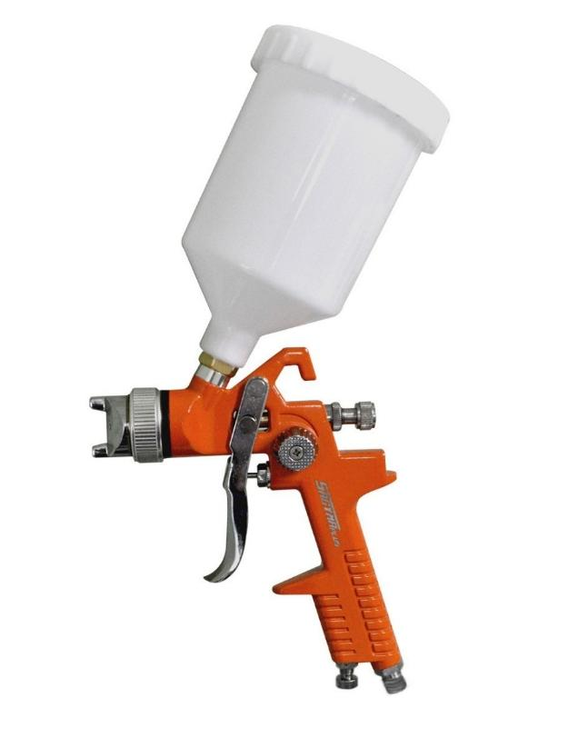 Kit pintura compressor portatil pistola hvlp mk tech v - Pistola pintura compresor ...