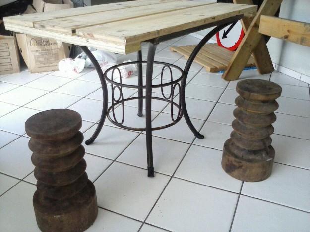 mesa jardim curitiba:mesa de jardim mesa de jardim com base de ferro antiga dois tornos