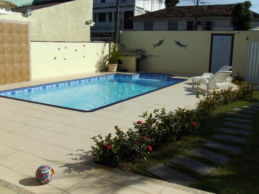 Confeccao de piscinas em alvenaria vazlon brasil for Piscina 8x4