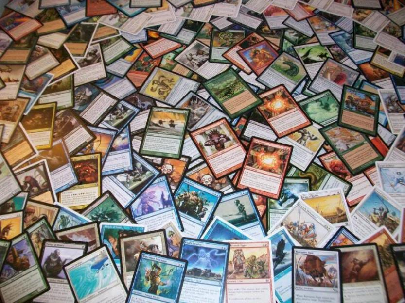Coleção de cartas Magic The Gathering