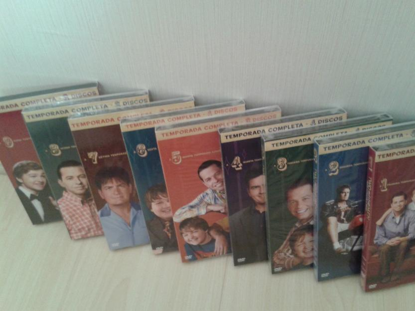 Serie two and a half men temp 1 a 9 lacrada